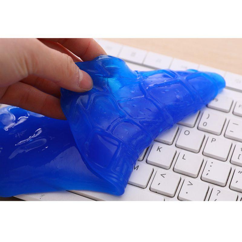 High-Tech Magic Dust Cleaner Compound Super Clean Slimy Gel For Phone Laptop Pc Computer Keyboard Clean Magic Dust Cleaner