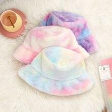 Женская теплая шапка модная Панама Корейская версия рыбацкая