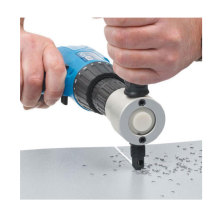 Cutting-Machine Drill Nibbler-Cutter Metal Adjustable for 360-Degree Double-Head-Sheet