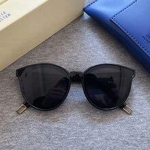 2020 siyah Peter kadın güneş gözlüğü kore yumuşak güneş gözlüğü canavar yıldız Sunglass moda bayan eski güneş gözlüğü orijinal paket