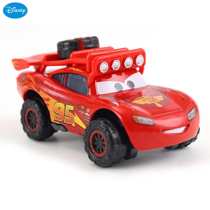 Disney Pixar Cars 3 Lightning McQueen 1:55 Diecast Metal Alloy Model Car Toy Christmas Gift Children Boys