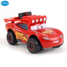 Modèle de voiture Disney Pixar Cars 3 Lightning McQueen 1:55 en alliage de métal moulé, jouet pour enfants, cadeau de noël pour garçons