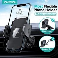 Soporte de teléfono Flexible para coche, brazo largo para iPhone 12 11 pro, para móvil, salpicadero o parabrisas, salida de aire de succión