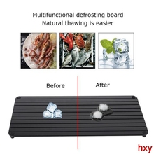 Quick thaw plate defrosting tray steak meat seafood thaw cutting board  Fast Defrosting Tray