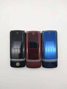 Image 2 - 100% الأصلي موتورولا Krzr K1 الوجه مقفلة GSM بلوتوث MP3 راديو FM الهاتف المحمول تجديد شحن مجاني