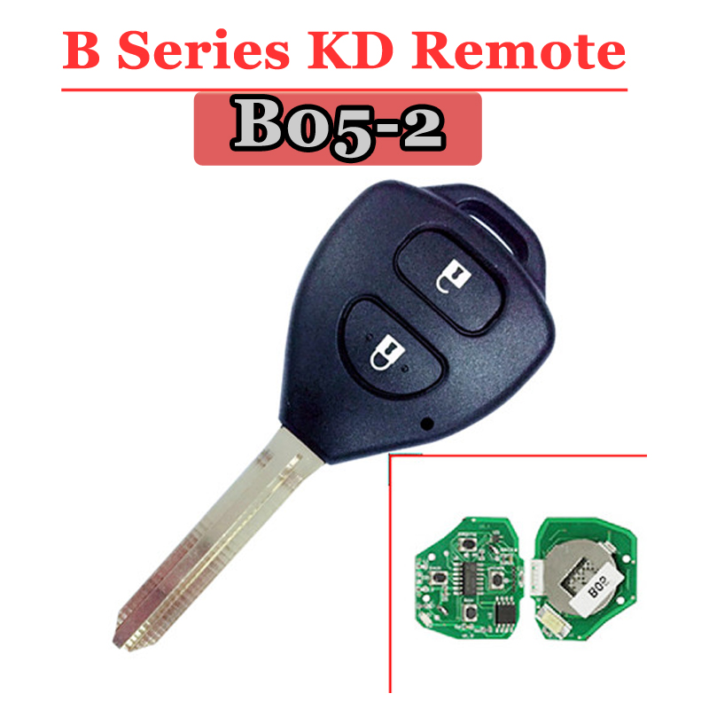 Free Shipping (1 Piece)B05 Kd Remote 2 Button B Series Remote Key For URG200/KD900/KD200 Machine