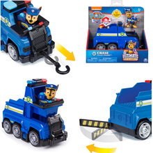 Paw Patrol Chase Six wheeler Toy Set Deformation Skye Toy Car Telescopic claw Chase Action Figure Model Toy for Children Gift
