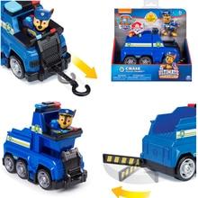 Paw Pattuglia Chase Sei wheeler Giocattolo Set Deformazione Skye Giocattolo Auto Telescopico artiglio Chase Action Figure Modello Giocattolo per I Bambini regalo