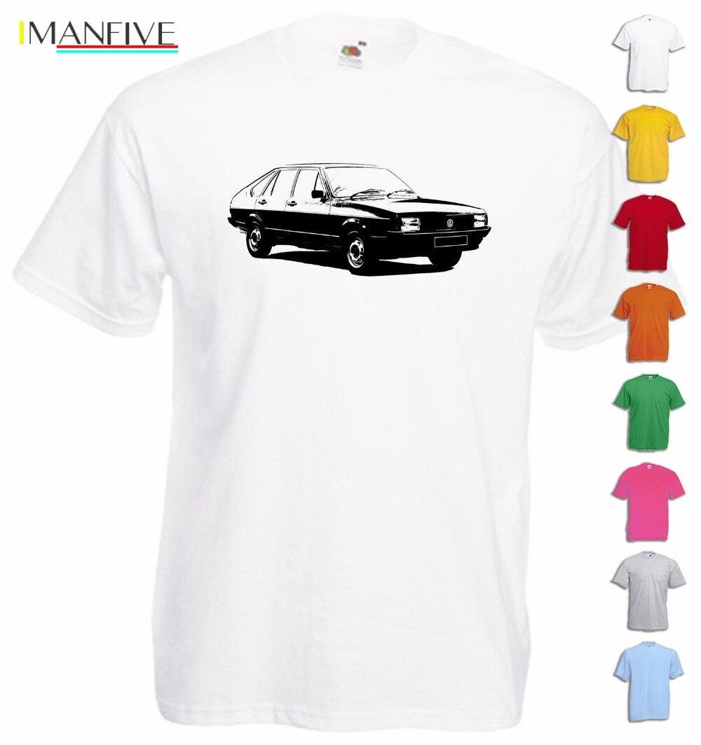 Men's short sleeve T-shirt Men's car T-shirt Car Passat  B1 B2 B3 B4 B5 B7 B8 Car Kombi Cc Gift Tee shirt