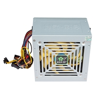 Max 450W Power Supply Computer Pc Cpu 12V 20+4Pin 120Mm Silent Fan Pcie With Sata Power Switch For Intel Amd Computer Us Plug|Tablet Chargers| |  -