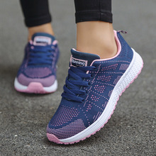 Women Shoes Ultralight Women Flat Shoes With Breathable Mesh Sneakers Woman Plus Size 42 Sports Chaussure Femme Flats Casual