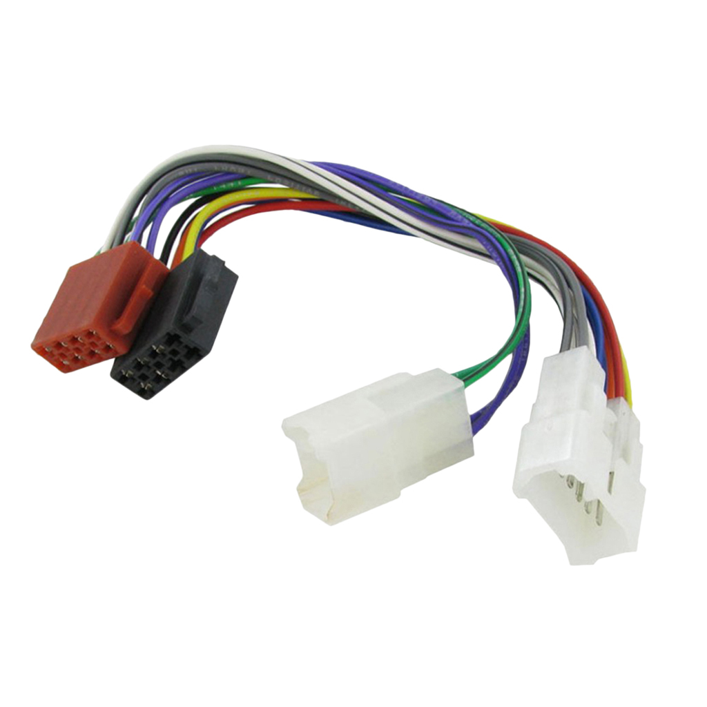 Wiring Lead Harness Adapter For Toyota ISO Stereo Male Plug Cable