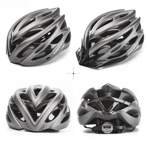 Image 2 - KINGBIKE HOT Bicycle Helmet Men Women MTB Road Cycling Helmets Ultralight Integrally molded EPS+PC Bike helmet Capacete Ciclismo