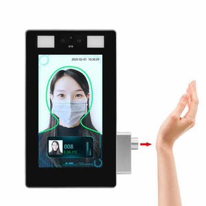 7 Inch Wrist Temp Detection and Facial Recognition Tablet Network Camera Thermal and