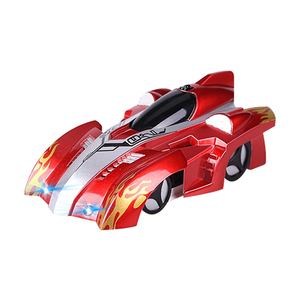 Anti Gravity Wall Climbing RC Car With LED Lights 360 Rotation New Design Wall Climbing Stunt Car RC Toys for Kid Christmas gift