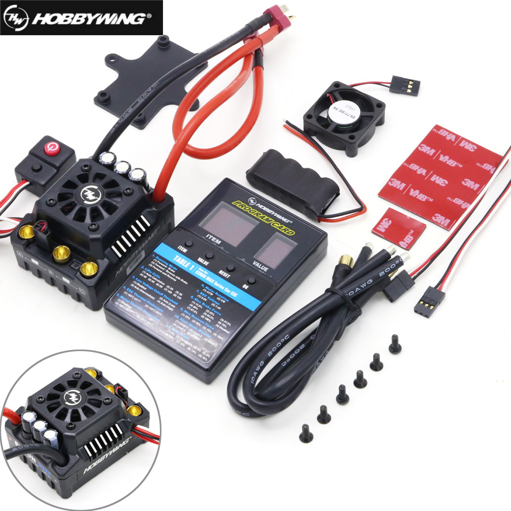 Hobbywing EZRUN Max8 V3 150A Waterproof Brushless ESC T Plug For RC 1/8 Traxxas E-REVO Traxxas Summit HPI Savage Thunder Tiger