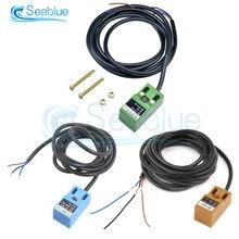SN04-N SN04N interruptor inductivo de proximidad 4mm Sensor de acercamiento NPN NO 3 cables interruptor inductivo de proximidad
