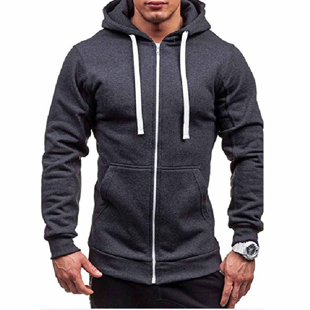 새로운 남성 unisex sweatshirtsthick 슬림 피트 지퍼 drawstring 까마귀 따뜻한 겨울 후드 점퍼 외부 의류 dustcloak