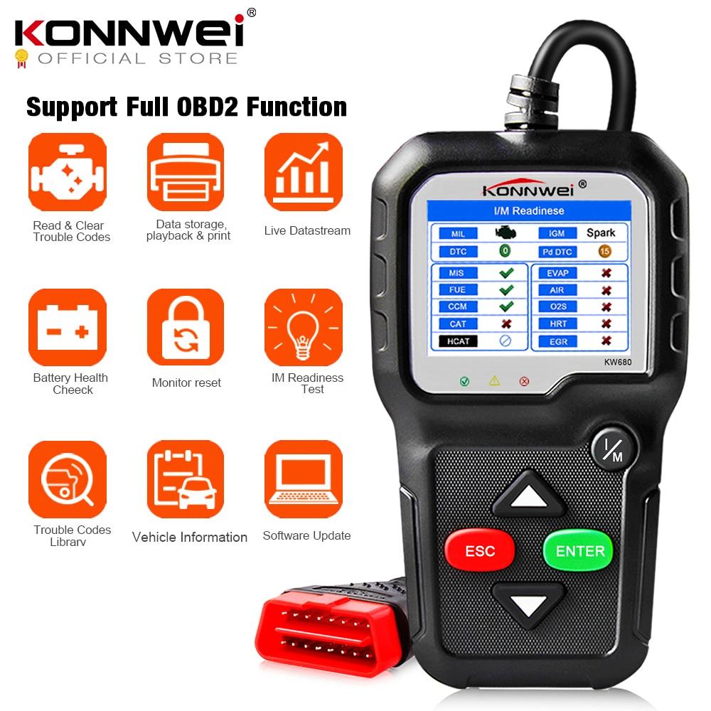 KONNWEI KW680 OBD2 Scanner Car Diagnostic
