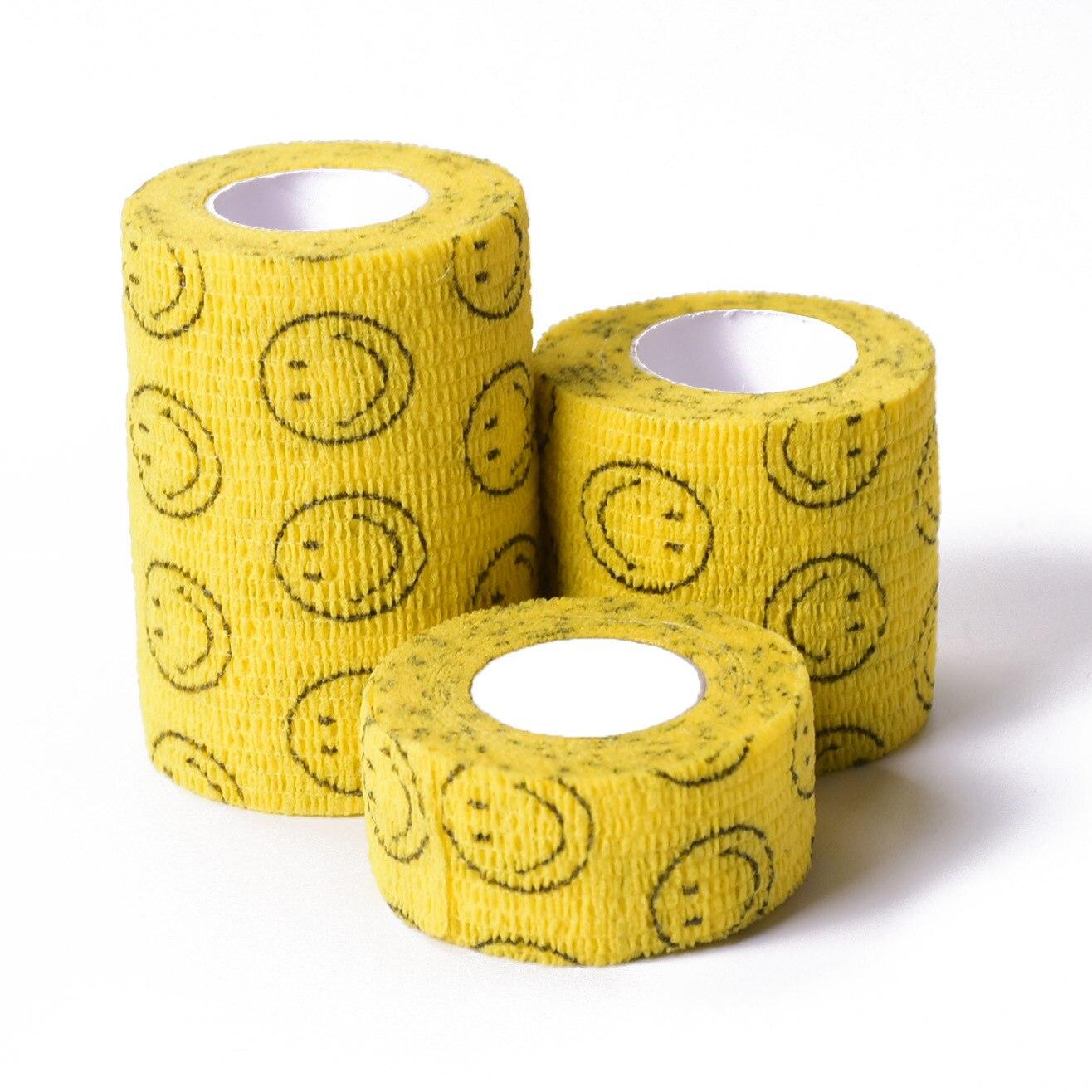 1 Pc Cartoon Tape Waterproof Self Adhesive Elastic Bandage Muscle Tape