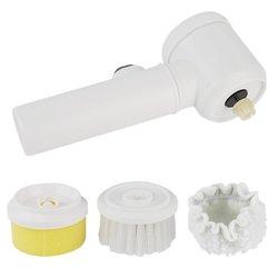 5 w 1 ręczna elektryczna szczotka do czyszczenia toaleta wc wanna szczotka szmaty pranie w kuchni szczotka domowe sprzęty czyszczące