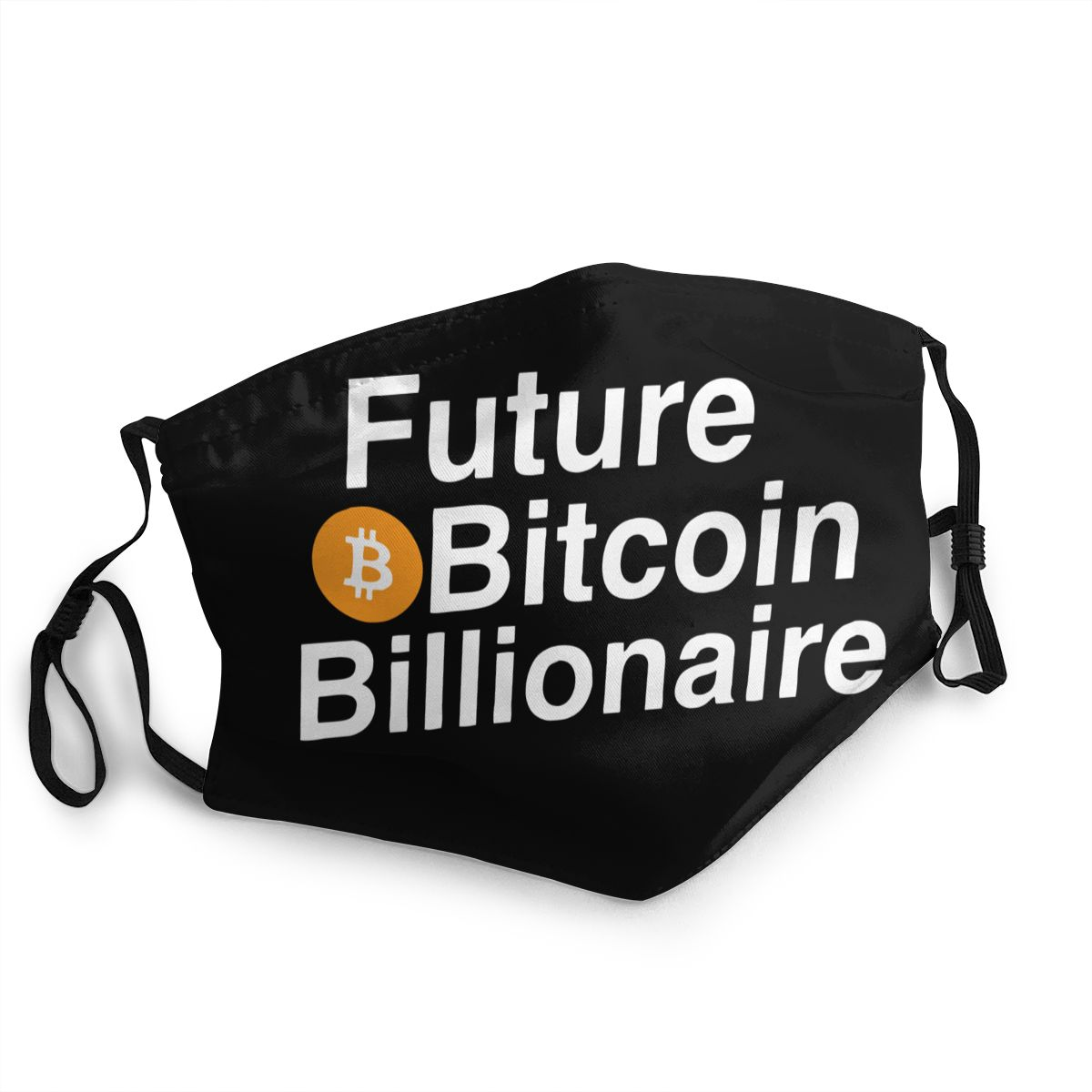Bitcoin Billionaire Cryptocurrency Reusable Mouth Face Mask Anti Bacterial Dustproof Mask Protection Cover Respirator Muffle