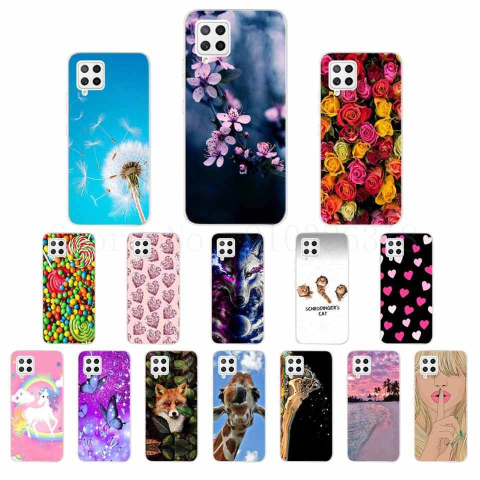 Creative Animals Print Patterned Ultra Slim Shockproof Silicone Gel Protective Film Cover Case Rubber Bumper Soft TPU Back Cover for Samsung Galaxy A42 Cat /& Tiger Samsung Galaxy A42 Phone Case