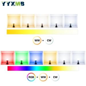 Image 2 - Светодиодная лампа YYXMB Smart Tuya WiFi E27 9 Вт, лампочка с регулируемой яркостью, совместимая с ECHO/Google Home/IFTTT, голосовое управление