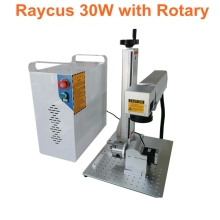 20W 30W split Fiber Laser Marking Machine with raycus source Metal Engraving for all kinds of metal