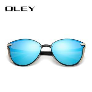 Image 4 - OLEY Cat Eye Sunglasses Women Polarized Fashion Ladies Sun Glasses Female Vintage Shades Oculos de sol Feminino UV400 Y7824