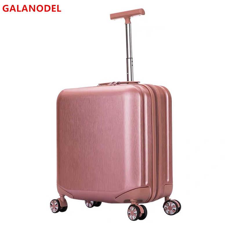 1820 20 20 Polegada mala de viagem bagagem de cabine girador rodas rolando bagagem carry on trole bagagem para meninas do miúdo saco de viagem