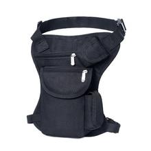 Multi-functional Portable Men's Waist Bag Tactical Belt Pack Nylon Thigh Leg Drop Pack Sports Military Travel Hiking Gear Bag