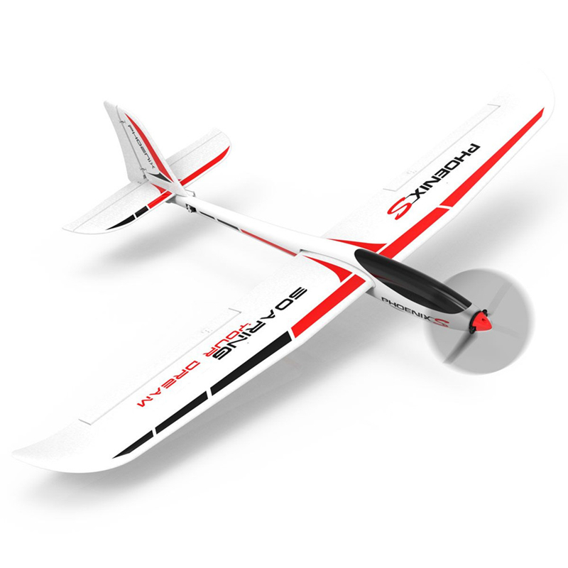 Volantex PhoenixS 742-7 4 Channel 1600mm Wingspan EPO RC Airplane with Streamline ABS Plastic Fuselage KIT/PNP image