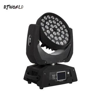 Хит продаж LED 36x18 Вт Zoom LED RGBWA + UV Moving Head Zoom Wash DJ Light Render 6 цветов в зале сценический диско-бар ночной клуб