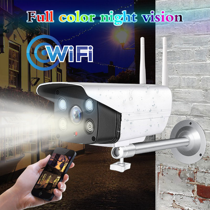 HD 1080P 720P Wifi Color Night Vision Motion Detection CCTV Camera Two Way Audio