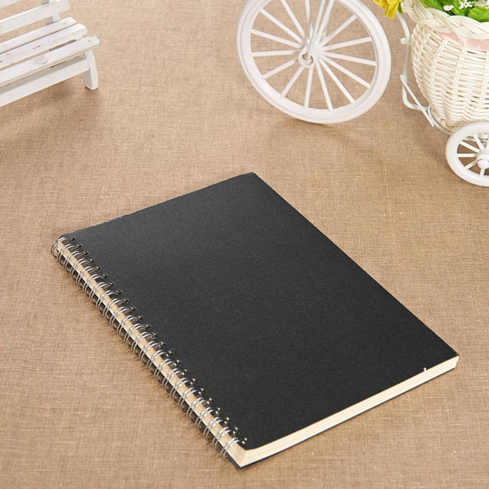 A5 B5 Spiral Book Coil Notebook To Do Lined DOT Blank Grid Paper Journal Diary Sketchbook For School Supplies Stationery Store