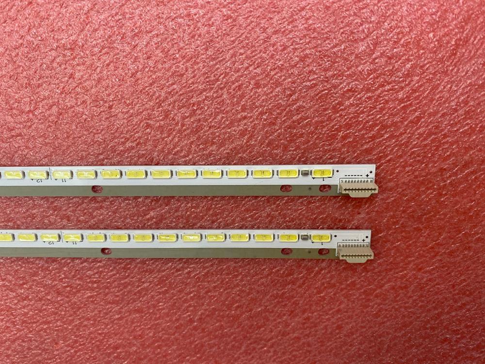 New 2 PCS*66LED 597MM LED Backlight Strip 47