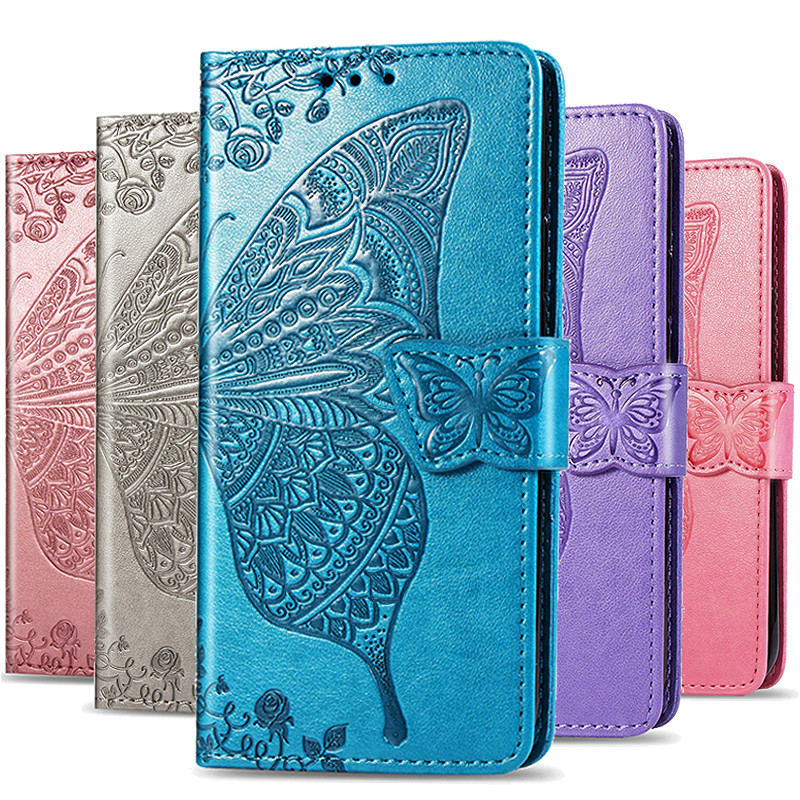 Huawei Honor 20 7A 7C 8A 8S 10i 9 Lite P Smart Z Leather Flip Case For Huawei P20 P30 Mate 10 Lite 20 Pro Y6 Prime 2018 Y5 2019(China)