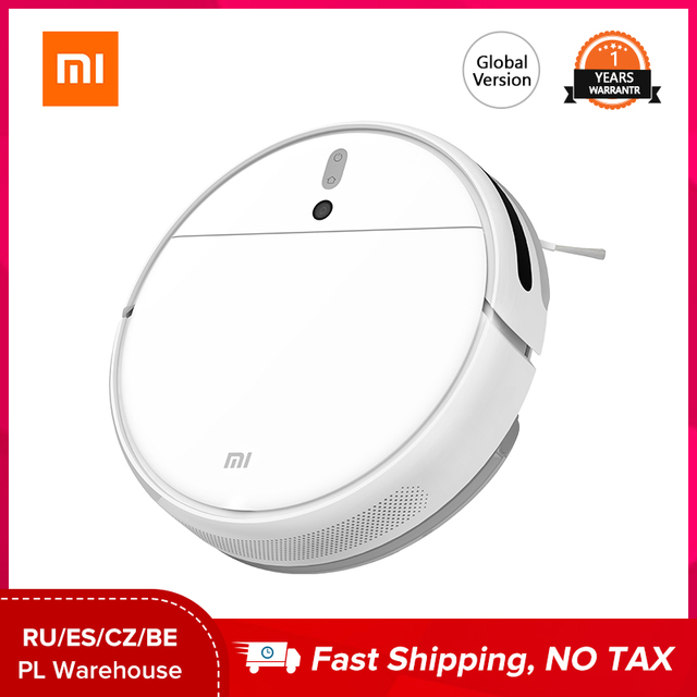 Xiaomi Mijia 1C Vacuum Cleaner robot Global Version Cordless Sterilize Smart Appliance Sweeping Mopping Hard Floors Carpet Clean 1
