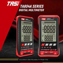 TASI TA804A multimetro digitale Tester automatico professionale multimetro True RMS misuratore di tensione NCV OHM intelligente ultrasottile