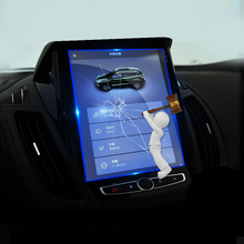 цена на Car Tempered Glass GPS Navigation Screen Protector Film For Ford Kuga 2013 2014 2015 2016 2017 2018 2019 Mk2 Escape Anti Scratch