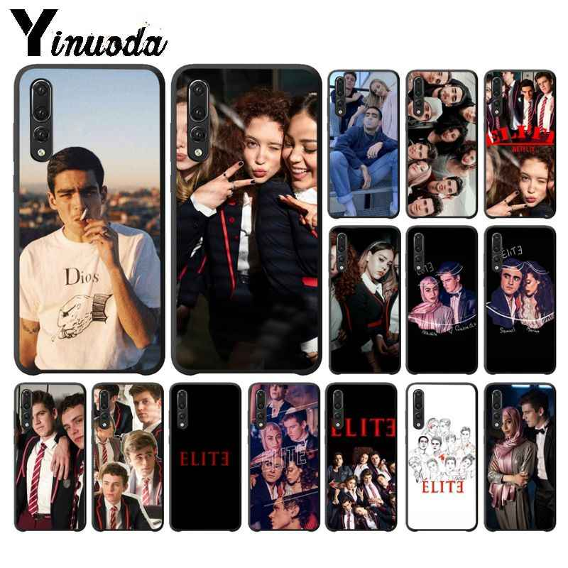Yinuoda TV Spanyol Seri Elite TPU Lembut untuk Huawei P10 Plus 20 Pro P20 Lite Mate9 10 Lite honor 10 View10 Cover