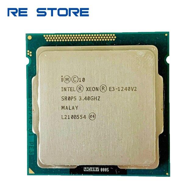 Processeur Intel Xeon E3 1240 v2 3.40GHz 8M Cache SR0P5 LGA1155 occasion