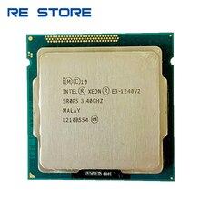 used Intel Xeon E3 1240 v2 Processor 3.40GHz 8M Cache SR0P5 LGA1155 CPU