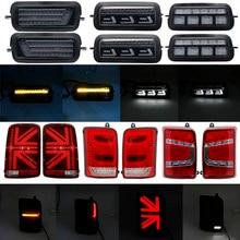 Para lada niva 4x4 1995-led luzes traseiras para niva 4x4 com luzes diurnas led sinal de freio para lada niva acessórios