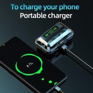 Image 4 - Mini 5.0 cuffie Bluetooth Stereo TWS auricolari Wireless auricolari In ear vivavoce cuffie per chiamate binaurali per tutti i telefoni