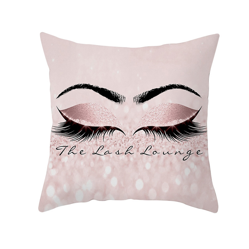 Cojines Sofa Online.Mega Discount Eye Lash Fashion Decorative Pillowcover