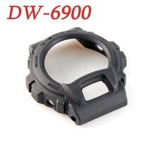 Матовый черный чехол из натуральной DW-6900/DW-6600