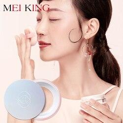 MEIKING Rose Plant Powder Oil Control Loose Powder cosmetics compact Whitening Brighten Skin Tone Makeup setting mineral powder