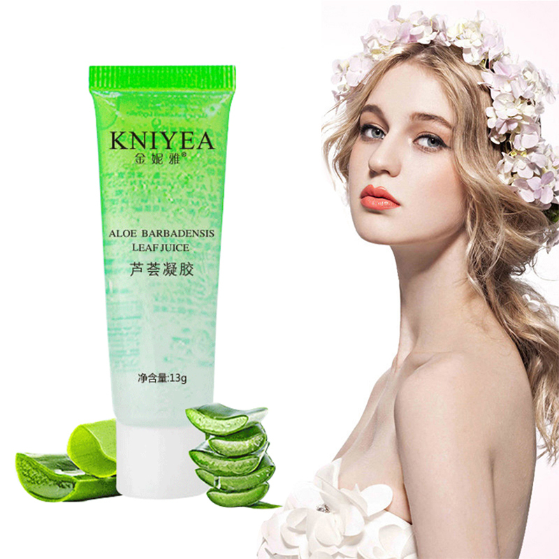 KNIYEA 100% Pure Plants Aloe Vera Gel Hyaluronic Acid Removal Skin Rejuvenation Base Primer Moisturizing Skin Care Cream TSLM1